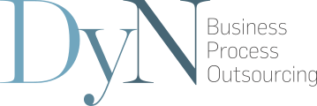 DyN Business Process Outsourcing Logo